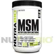 NUTRABIO - PURE MSM POWDER - JOINT PAIN & ARTHRITIS RELIEF -500 gr