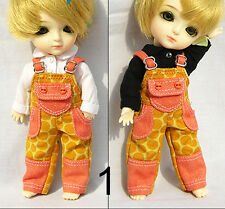 Lati Yellow Doll Outfit Colorful Print Pants (orange)