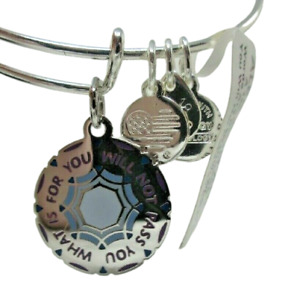 Alex and Ani Words Are Powerful BRACELET NEW 2019 Expandable Charm