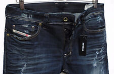 Diesel Men Jeans 31 W x 32 Safado 852G Stretch Reg Slim Straight New with Tags