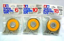 TAMIYA Masking Tape Dispenser 6mm 10mm 18mm / 3 packs / Made in Japan