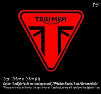 TRIUMPH Stickers Reflective Motorcycle Decals Gas Cap 10.5cm Best GiftR