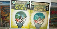 House of Secrets 99 COVER ART Matched Pair Painting + Approval Proof MIKE KALUTA