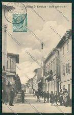 Firenze Borgo San Lorenzo cartolina QQ2266