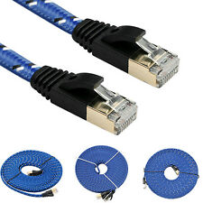Lot Cat 7 Rj45 Shielded Twisted Pair Lan Network Ethernet Cable Internet Cord