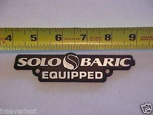 KICKER SOLOBARIC Equipped Chrome emblem PLATE, NEW !!! Exclusive solo plate