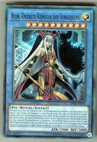 Yu-GI-OH Ruin Oberste Königin des Vergessens Super Rare OP08-DE004