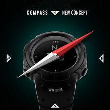 Men Compass Outdoor Sport Digital Countdown LED Military Quartz Watch Tactical