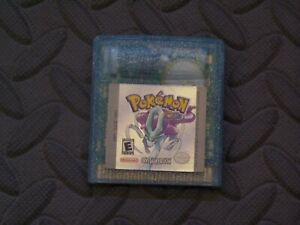 Pokemon Crystal Gameboy Game With Trainers Guide.   New Save Battery