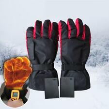 Battery Power Carbon Fiber Heating Gloves Electric Heated Gloves Ski Warm Gloves