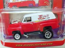 JOHNNY LIGHTNING - WICKED WAGONS - JL TALK - 1955 FORD PANEL DELIVERY - ZINGER