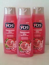 3 Bottles Alberto VO5 - Pomegranate Bliss Grape Seed SHAMPOO 12.5 oz