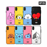 BTS BT21 Official Authentic Goods Peekaboo Muti Card Bumper Case By + Tracking#