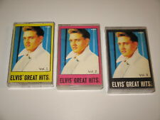 3 x ELVIS PRESLEY - Great Hits vol.1,2,3 - MC cassette tape /Z4
