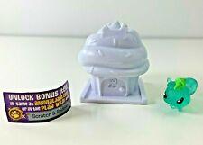 Animal Jam Cupcake Series 3 #3-12 Jellychip Blue Squirrel SUPER RARE Unused Code
