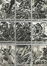 "Conan Art of the Hyborian Age - ""Ode to the Cimmerian"" 12 Card Chase Set #C1-12"