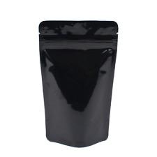 "4.5"" x 6"" High Quality Zip Lock Mylar Bags - Clear/Black (50PCS)"