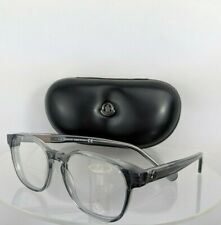 Brand New Authentic Moncler Eyeglasses ML 5013 075 50mm Translucent Grey Frame