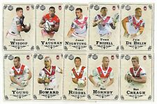 2018 NRL Special Edition Glory St. George Illawara DRAGONS 12 Card Team Set