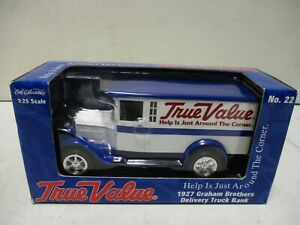 RC2 1927 True Value Graham Brothers Delivery Truck Bank 1/25