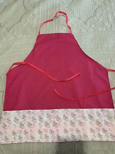 KIDS APRON AGES 3-8years *EMBROIDERED FIRST NAME FREE!*