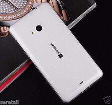 Transparent Soft Silicone Back Case Cover For Microsoft Lumia 535