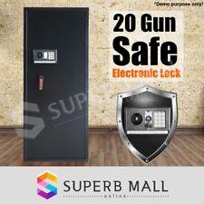 20 Gun Safe Rifle Firearm Storage Lockbox Steel Cabinet Heavy Duty Electronic