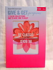 Bare Escentuals Bare Minerals Kit Give & Get 2 Color Collections Classic & Bold