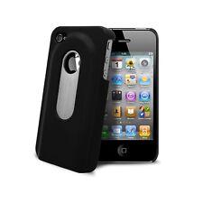 Coque Housse Etui rigide Décapsuleur noire Pour iPhone 4S/4