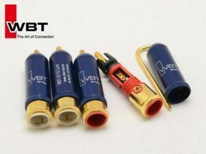 WBT-0110 RCA Plug- Nextgen Copper, Pkt 4
