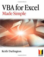 VBA For Excel Made Simple (Made Simple Programming),Keith Darlington
