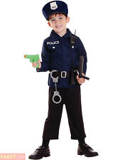 Childs Policeman Fancy Dress Kit Boys Girls Police PC Cop Costume Accessories