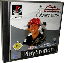 Michael Schumacher Racing World-KART 2002 (Sony Playstation 1, 2002) ps1 jeu
