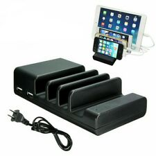 4Port USB Charging Dock Station Charger Stand Organizer For Tablet iPAD Phone