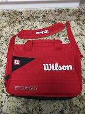 Wilson Tour Carrying Case Tote Bag Tennis Outdoor Sports Storage Duffle bag