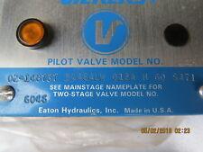 Vickers Valve 02-148737 DG4S4LW  012A H60 S471 New