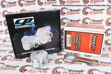 CP Pistons Manley Rods For Honda B16A 81.5mm +0.5mm 11.2:1 CR SC7116X / 14415-4