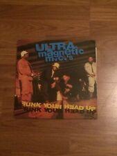 Ultramagnetic MC's Funk Your Head Up Hip Hop LP VG Vinyl OG 1992 EU Release