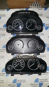Bmw F10 528i 535i Dashboard Instrument Cluster Speedometer MPH Oem 9291412