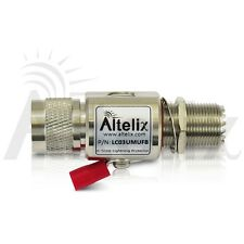Altelix Coaxial PL-259 SO-239 UHF M-F Lightning Surge Protector Gas Tube CB HAM