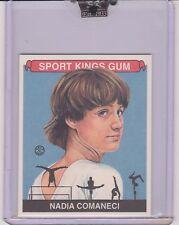 AWESOME 2008 SPORT KINGS NADIA COMANECI MINI CARD #61 ~ OLYMPIC GYMNASTICS