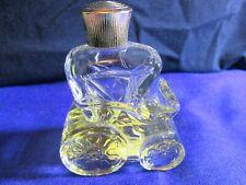 "Vintage Avon Bottle ""Cinderella's Coach"" Flower Talk Cologne"