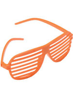 Toy Cubby Stylish 80/'s Slotted Party Favors Neon Costume Sunglasses 36 pieces