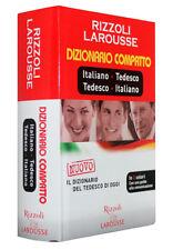 DIZIONARIO COMPATTO ITALIANO - TEDESCO [LAROUSSE] RIZZOLI
