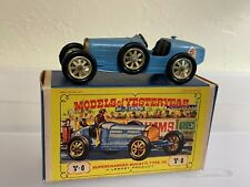 Matchbox Lesney Models Of Yesteryear Y6-B Bugatti Type 35 in Original D2 Box