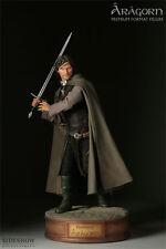 # con menos frecuencia Aragorn señor de los anillos Sideshow Weta LOTR 1:4 premium formato personaje