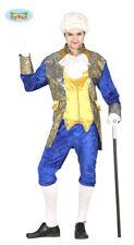 Guirca Costume Blu Marchese Venezino '700 Carnevale Uomo adulto Mod. 8433 L