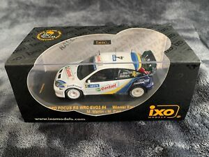 IXO RAM124 Ford Focus RS WRC 03 2003 Rally Finland Winner M. Martin/M. Park 1:43