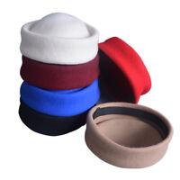 Wool Stewardess Air Hostesses Pillbox Hat Millinery Fascinator Craft Base B028