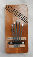 Five Note Tunable Hand Carved Wooden Kalimba / Thumb Piano - BNWT